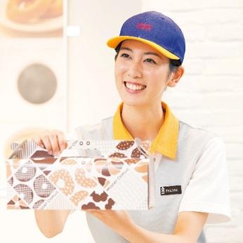 志望理由は「ミスドが好き!」でもOK!むしろ大歓迎です。休憩時にはうれしいドーナツの支給あり